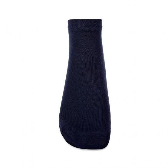 Зручні чоловічі шкарпетки комфортної довжини в однотонних кольорах фото 3