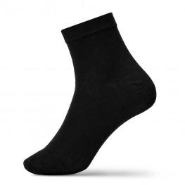 Зручні чоловічі шкарпетки комфортної довжини в однотонних кольорах-1063